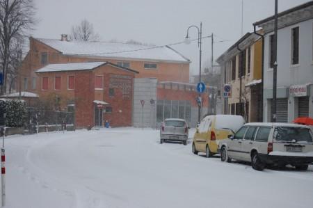 Snow in Piove di Sacco